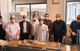 Sadık künefe'den sağlık çalışanlarına tatlı ikramı