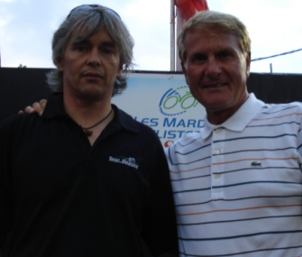 Louis Barbeau et Tino Rossi