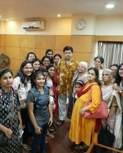 subodh bhave birthday celebration with fans