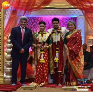 Radhika Saumitra Marriage Photos