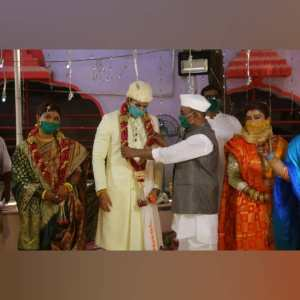 Yogita Gawali Marriage photos