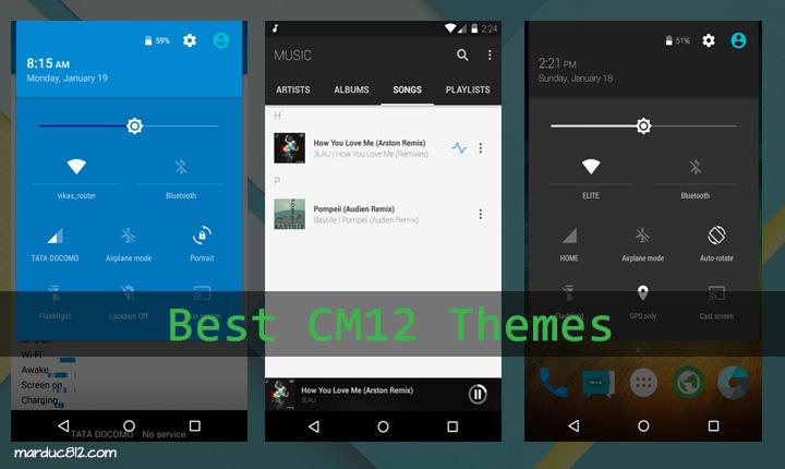 Best Free CM12 themes