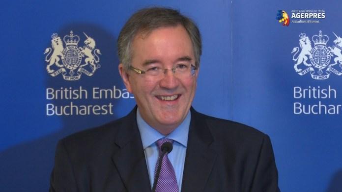Ambasadorul britanic Andrew Noble: Românii sunt foarte prețuiți, au o etică a muncii de top