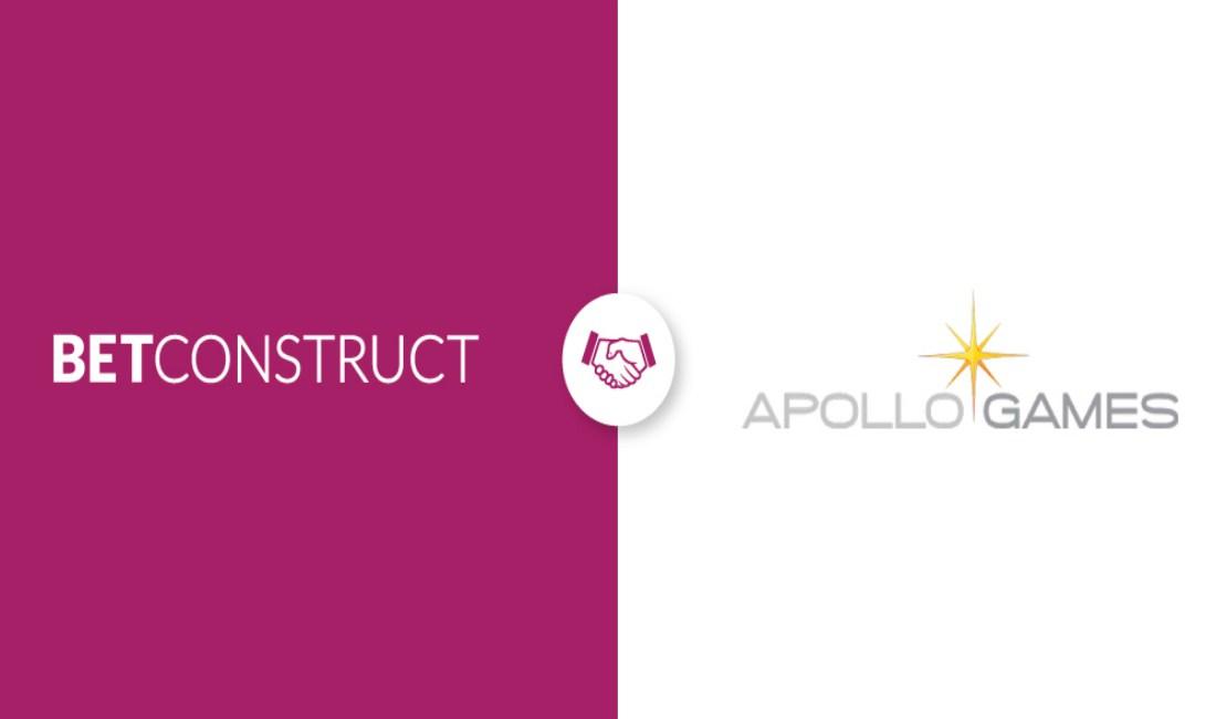 BetConstruct integrates Apollo Games to its Casino Suite