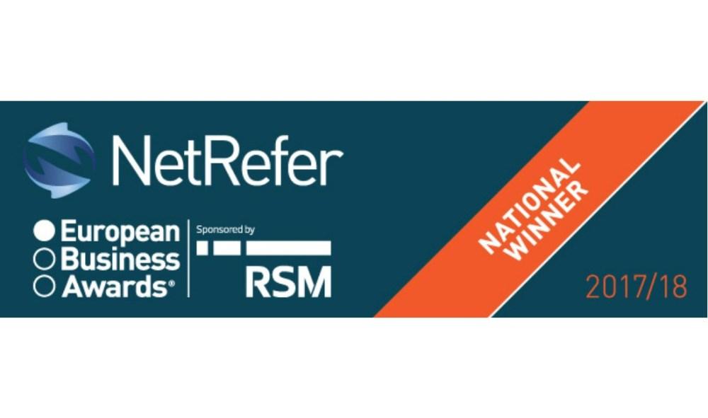 NetRefer wins European Business Award