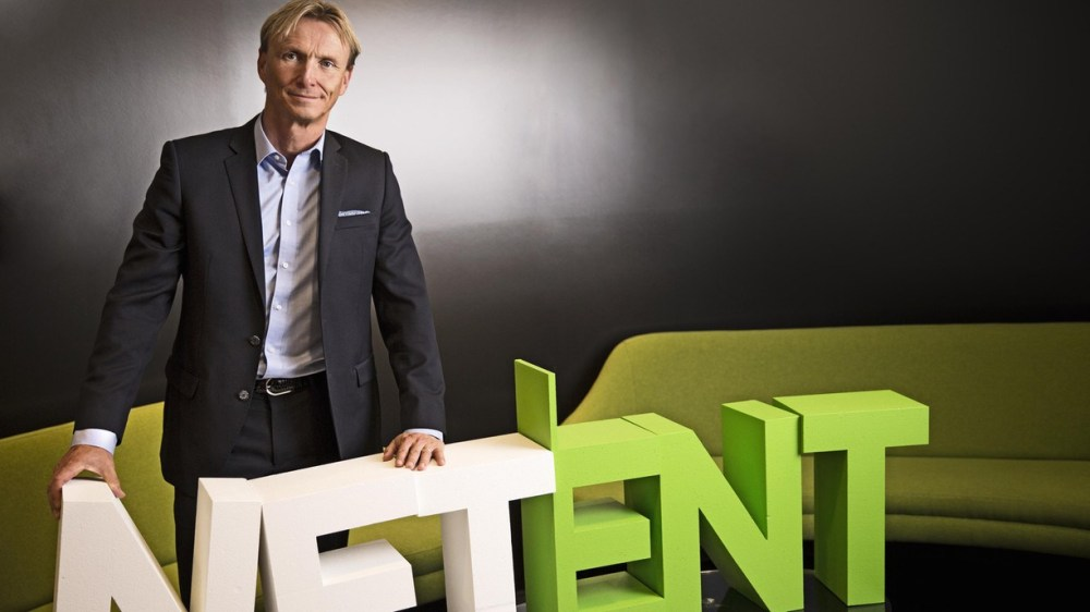 Eriksson removed as NetEnt CEO