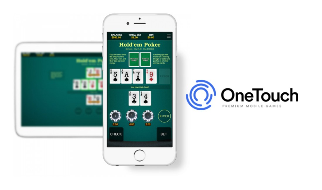 OneTouch launches Hold'em Poker title