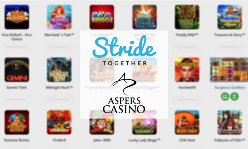 Stride strengthens Aspers Casino Online with Greentube content