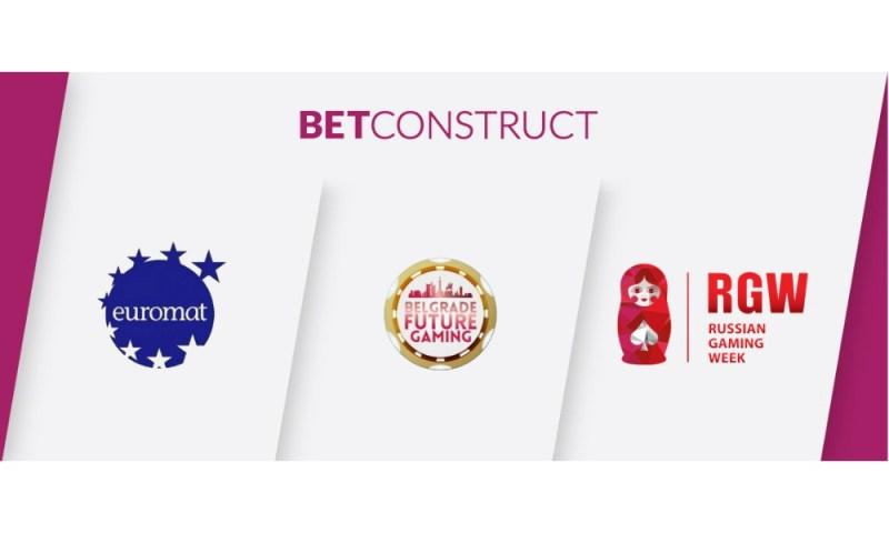 BetConstruct attends three events