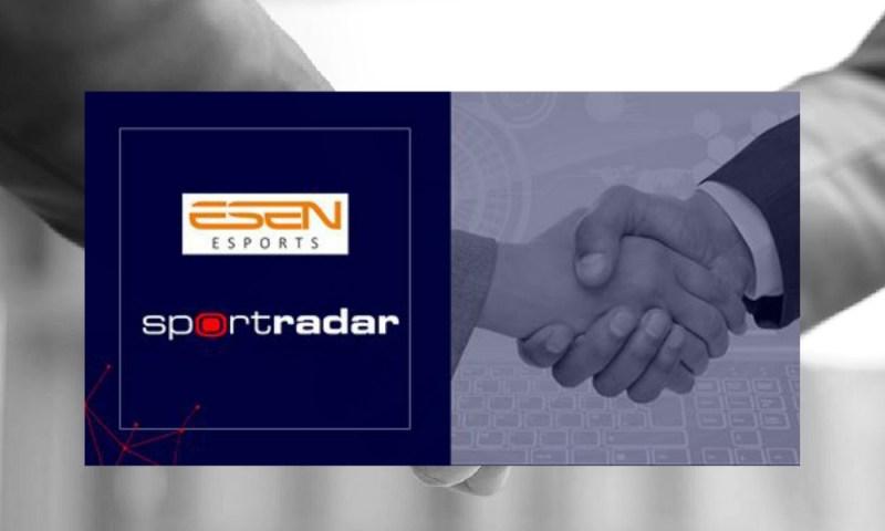 ESEN eSports Bring Sportradar On Board For Data, Streaming And Integrity