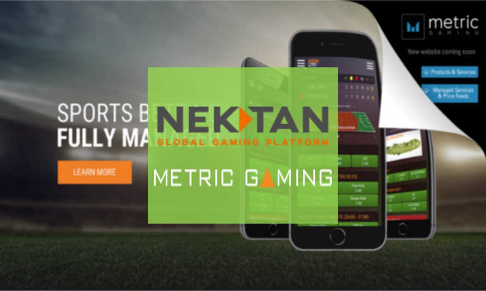 NEKTAN ANNOUNCES PARTNERSHIP WITH METRIC GAMING