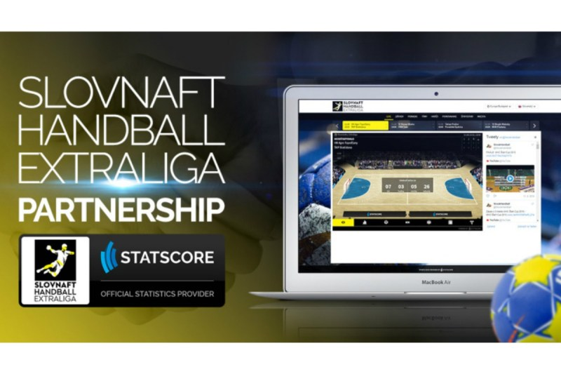 STATSCORE named the official statistics provider for the Slovnaft Handball Extraliga!