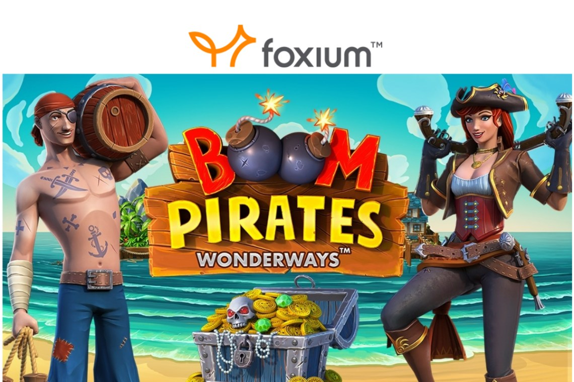 "Foxium Launches its New ""Boom Pirates"" Slot"