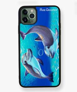 Two Dolphins - Phone Case - Maree Davidson