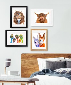 Framed & Matted Print Collections