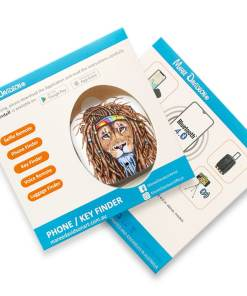 HIPPIE LION PHONE AND KEY FINDERS