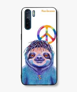 HIPPIE SLOTH - OPPO PHONE CASE COVER