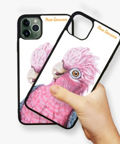 DIXIE THE GALAH-IPHONE CASE COVER-MAREE DAVIDSON