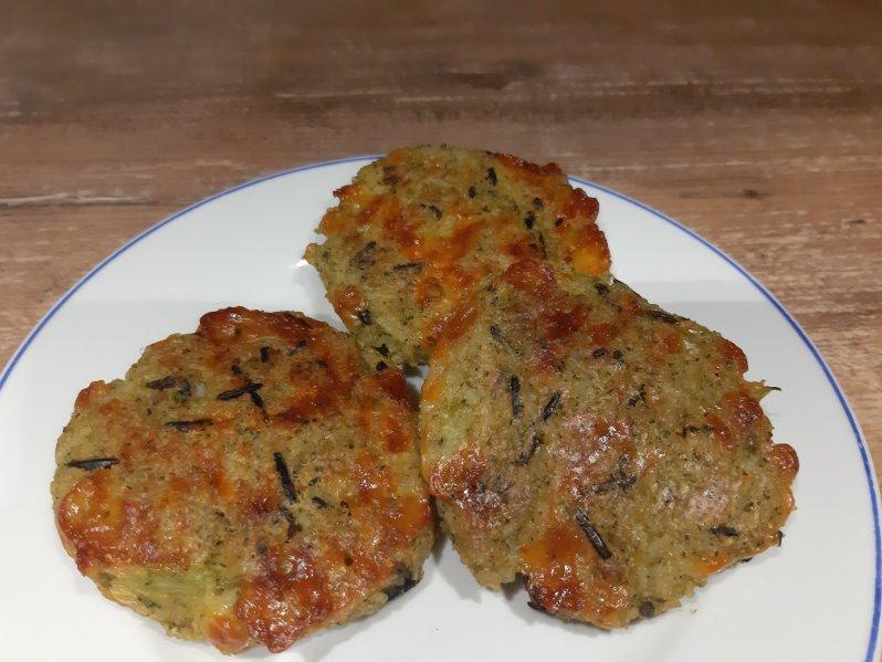 Recipe for broccoli rice cookies