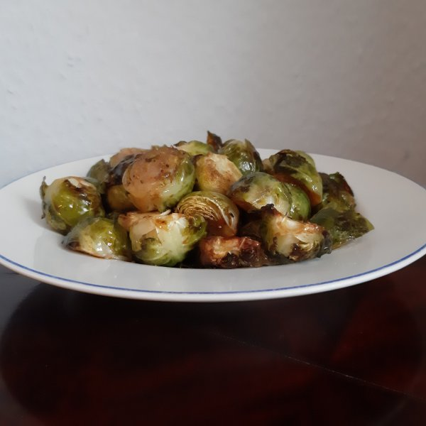 Recipe for roasted brussels sprouts