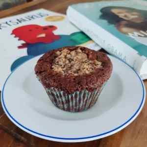 Double hazelnut muffins