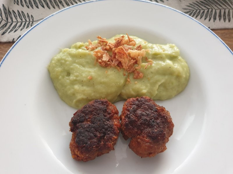 mashed avocado potatoes recipe