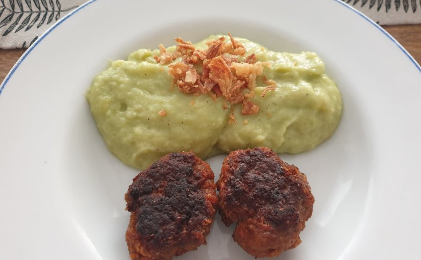 Mouth-watering German-style meat balls