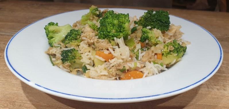 low carb Thai Khao pad recipe