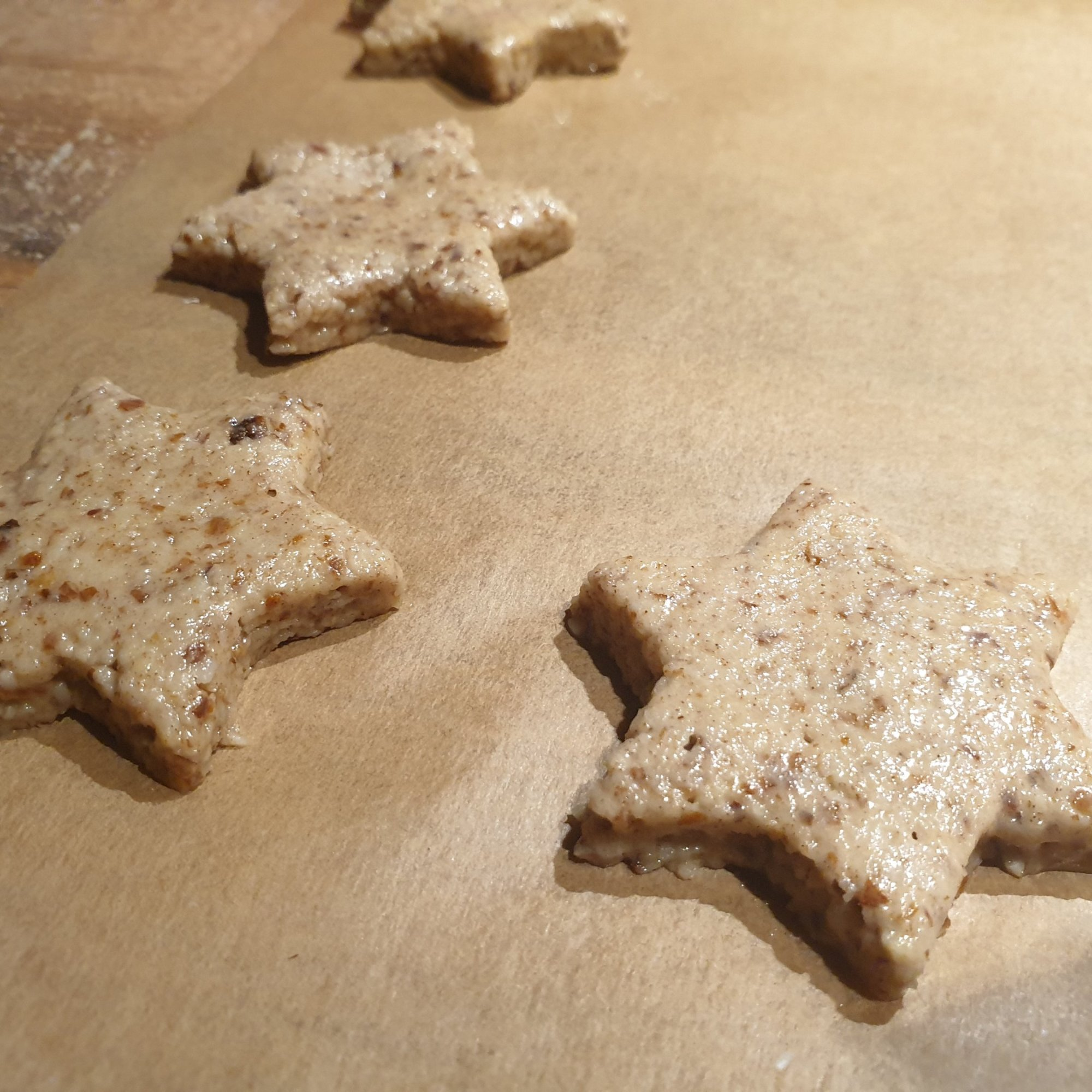sugar-free cinnamon star cookies