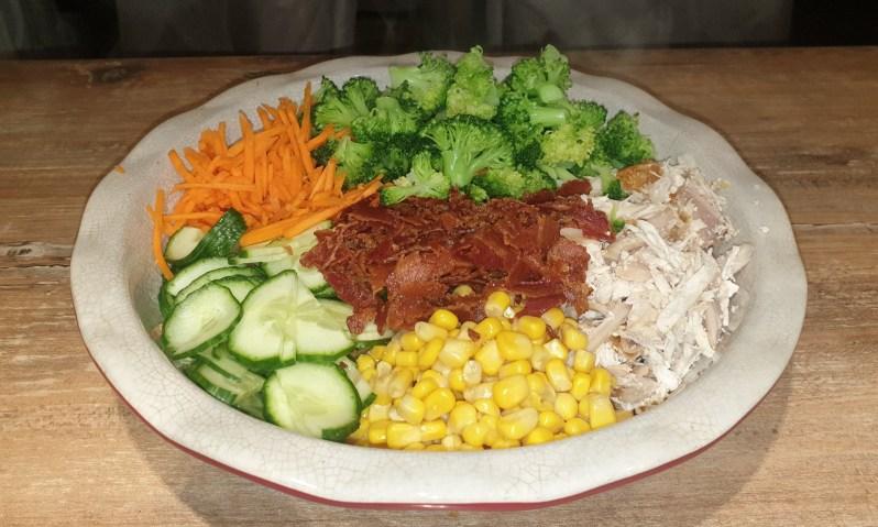fitness salad recipe