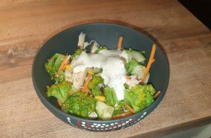 Broccoli fitness salad