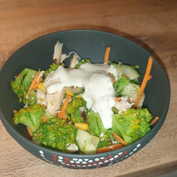 Broccoli fitness salad