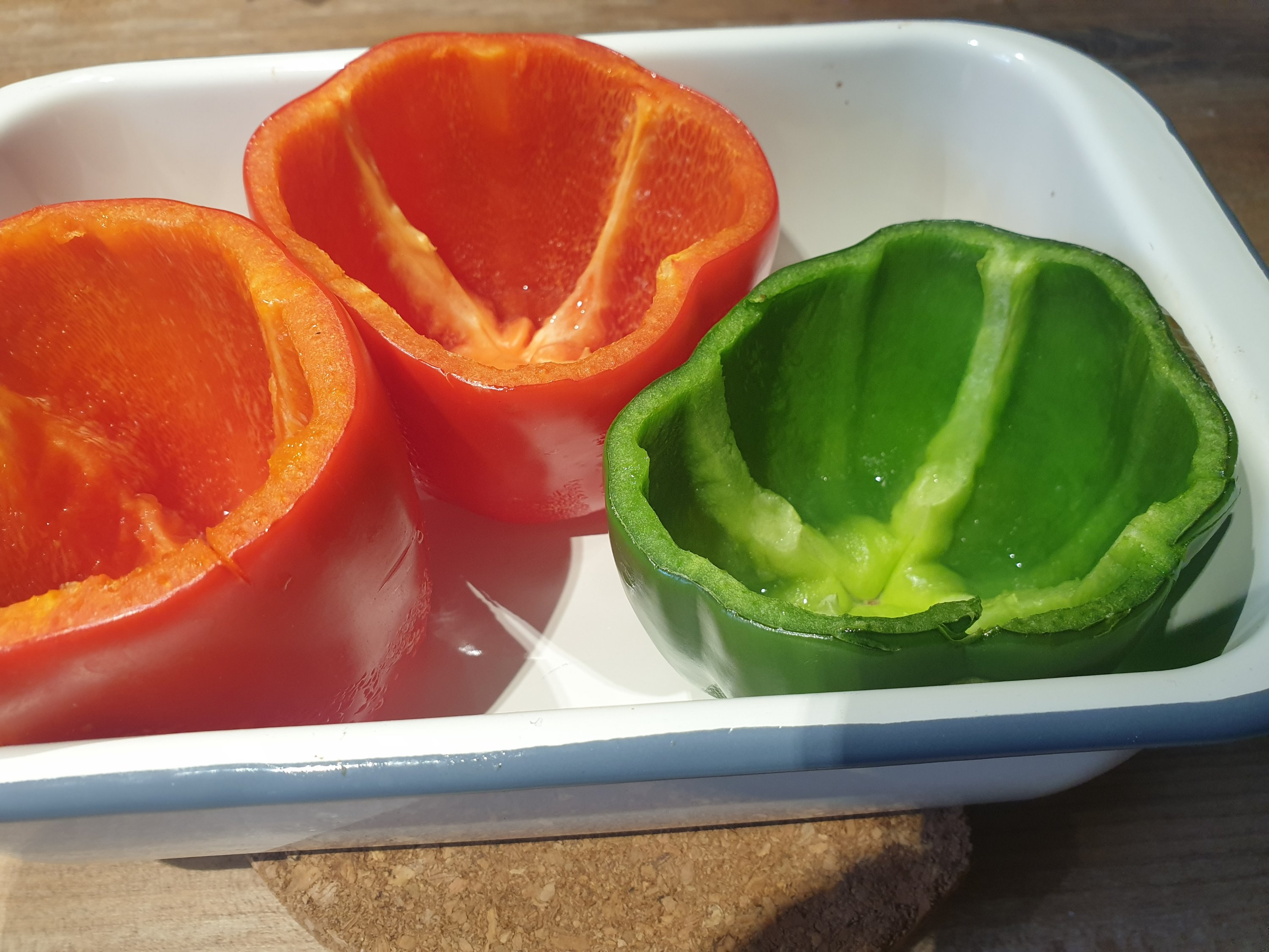 Taco peppers - step 1