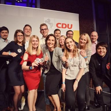 Überraschung und große Freude für mein Team & mich: Ich ziehe über die Liste in den Landtag ein!