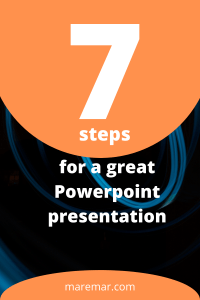 7 steps to fix a presentation