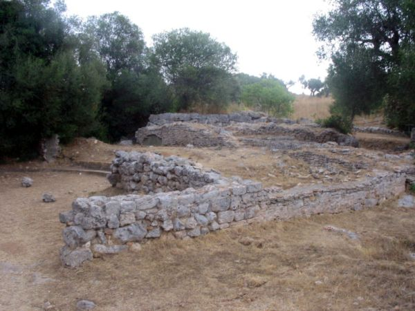 Città di Cosa resti del Foro romano
