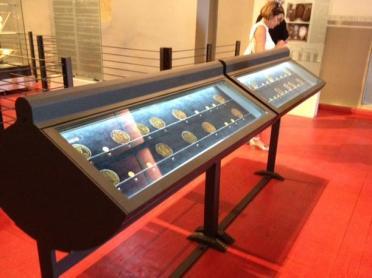 Sovana - Museo di San Mamiliano monete d'oro