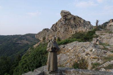 Statua San Pio Chiesa San Martino