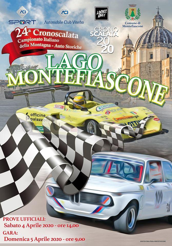24° Cronoscalata Lago Montefiascone 3-5 Aprile 2020