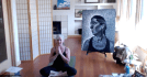 Image from Chantelle McNichol's Yoga Practice featuring Anne / Portrait of the Artist's Mother