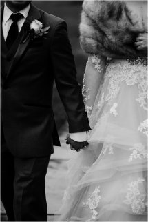 Kelsey Jay Wintry Roanoke Wedding Maren Kathleen