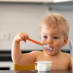 dealing with mealtime messes