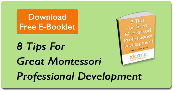 8 Tips For Montessori Professional Development