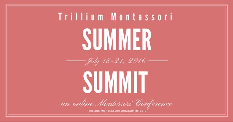 Tillium Montessori Summer Summit