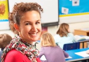 talking to teachers
