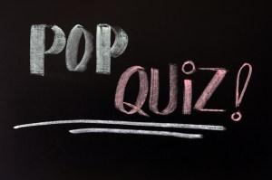 pop quiz parent