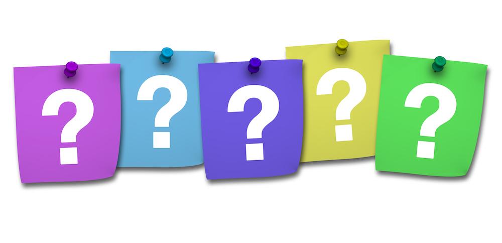 five most important questions