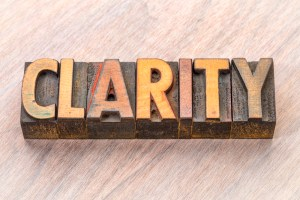 Creating Clarity