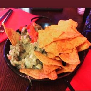 Cuacamole con Nachos