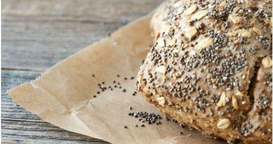 receta de pan de chía - Mares Lingua - Recetas de cocina fáciles y sanas